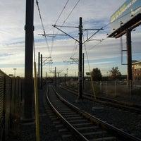 Foto tirada no(a) RTD - Auraria West Campus Light Rail Station por Patrick K. em 10/11/2012