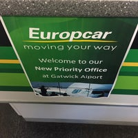 Europcar London Gatwick Airport Lower Forecourt Road