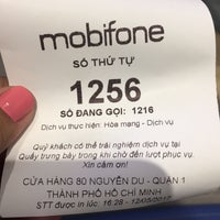 ... Photo taken at Mobifone Support Service Center by Xi Muoi on 5/12/2017  ...