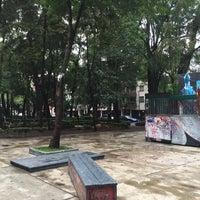 Снимок сделан в Jardin Morelos пользователем Liliana U. 5/15/2016