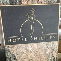 Photo taken at Hotel Phillips, Curio Collection by Hilton by Jeff P. on 10/4/2012