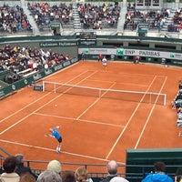 Photo prise au Stade Roland Garros par Julian H. le5/28/2013