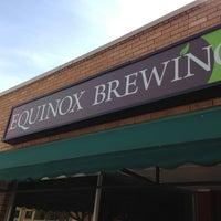 Снимок сделан в Equinox Brewing пользователем Josh J. 5/25/2013