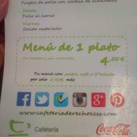 Foto tomada en Cafetería de la Facultad de Derecho y Ciencias Sociales por Antonio C. el 5/2/2014