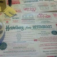Foto tirada no(a) Heidelberg Family Restaurant por Michael J. em 2/27/2012