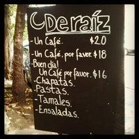 Das Foto wurde bei Café de Raíz von Fernando G. am 7/6/2013 aufgenommen