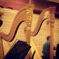 Снимок сделан в Московский международный дом музыки (ММДМ) пользователем Tanzilya M. 12/22/2012