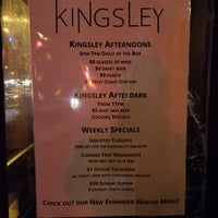 Photo prise au Kingsley par Erik W. le3/11/2018