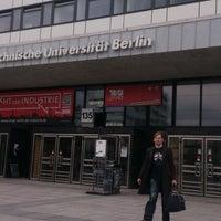 Das Foto wurde bei Technische Universität Berlin von Alexandra O. am 4/7/2014 aufgenommen