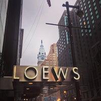 10/17/2013 tarihinde Kevin R E.ziyaretçi tarafından Loews Philadelphia Hotel'de çekilen fotoğraf