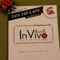 4/11/2014 tarihinde Kadriye T.ziyaretçi tarafından Bistro in Vivo'de çekilen fotoğraf