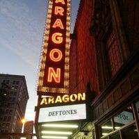 Снимок сделан в Aragon Ballroom пользователем Jose B. 10/23/2012