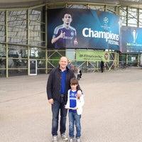Снимок сделан в UEFA Champions Festival 2012 пользователем Sean C. 5/18/2012