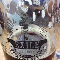 Снимок сделан в Exile Brewing Co. пользователем Kaitlyn W. 5/10/2013