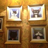 Снимок сделан в Чорний Кіт / The Black Cat пользователем Anna T. 5/11/2013