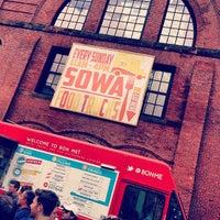 Снимок сделан в South End Open Market @ Ink Block пользователем Justine J. 5/12/2013