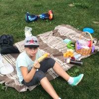 Снимок сделан в Спортивно-досуговый парк «Красная Пахра» пользователем Kirill K. 7/7/2018