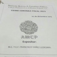 Foto tomada en Asociación Mexicana de Contadores Públicos por Betox S. el 12/3/2015
