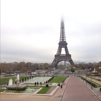 Photo prise au Place du Trocadéro par Jonathan F. le11/22/2012