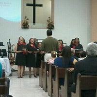 Снимок сделан в Primeira Igreja Batista do Feitosa пользователем Nathally B. 6/23/2014