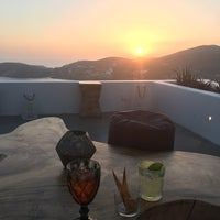 Photo taken at Ios Club - sunset cocktail bar by Rosalie P. on 6/24/2019