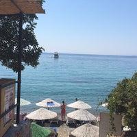 8/13/2015 tarihinde Gizemziyaretçi tarafından Mandalya Beach & Restaurant'de çekilen fotoğraf