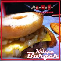 Foto diambil di Huangus Burger oleh Huangus Burger pada 5/20/2014