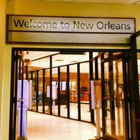 Снимок сделан в Louis Armstrong New Orleans International Airport (MSY) пользователем Kim L. 3/20/2013