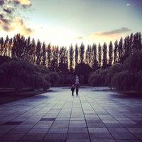 9/19/2012 tarihinde avtoportretziyaretçi tarafından Treptower Park'de çekilen fotoğraf