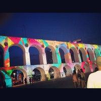 Das Foto wurde bei Arcos da Lapa von André C. am 10/22/2012 aufgenommen