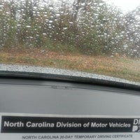 ... Photo taken at N.C. Department of Motor Vehicles by louis b. on 3/12 ...