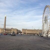 Das Foto wurde bei Place de la Concorde von Anna P. am 11/20/2012 aufgenommen