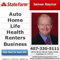James Raynor State Farm Insurance Agent Sanford Fl