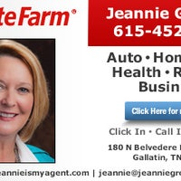 State Farm Jeannie Gregory Gallatin Tn