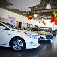 Photo Taken At Autonation Hyundai Mall Of Georgia By Yext Y On 10 12