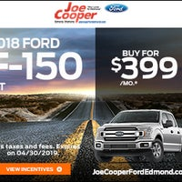 Joe Cooper Ford Edmond >> Joe Cooper Ford Of Edmond Northwest Oklahoma City 12 Visitors