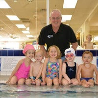 Photo taken at Hubbard Family Swim School by Yext Y. on 4/19/2018