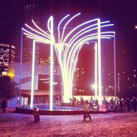 Photo taken at Federation Square by James C. on 6/7/2013