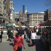 Снимок сделан в Union Square Greenmarket пользователем Erica L. 4/5/2013