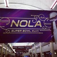 Foto scattata a Louis Armstrong New Orleans International Airport (MSY) da Marisol il 2/2/2013