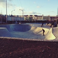 Foto tomada en Historic Fourth Ward Skatepark por Tucker W. el 2/8/2013