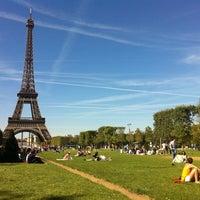 Photo prise au Jardin du Champ-de-Mars par D C. le9/8/2012