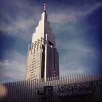7/11/2012にTが代々木駅で撮った写真