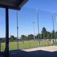 Das Foto wurde bei Mainz Athletics Ballpark von Matthias S. am 6/17/2012 aufgenommen