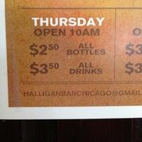 Foto tirada no(a) Halligan Bar por Drea V. em 3/21/2013