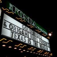 Foto scattata a The Fonda Theatre da Eric P. il 3/31/2013