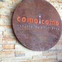 Foto tirada no(a) Como Como Osteria Mediterranea por Roberto N. em 12/23/2012