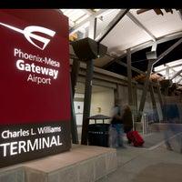 Снимок сделан в Phoenix-Mesa Gateway Airport (AZA) пользователем Phoenix-Mesa Gateway Airport (AZA) 3/28/2018