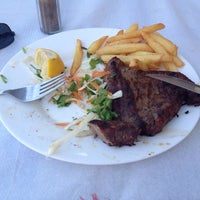 รูปภาพถ่ายที่ Ψαροταβερνα Κουκλις / Kouklis Restaurant โดย Aleksandar U. เมื่อ 8/13/2014