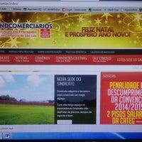Foto tirada no(a) Sindcomerciarios por Halécio C. em 12/16/2014